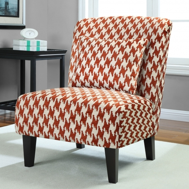 Classy Rust Accent Chair Ideas