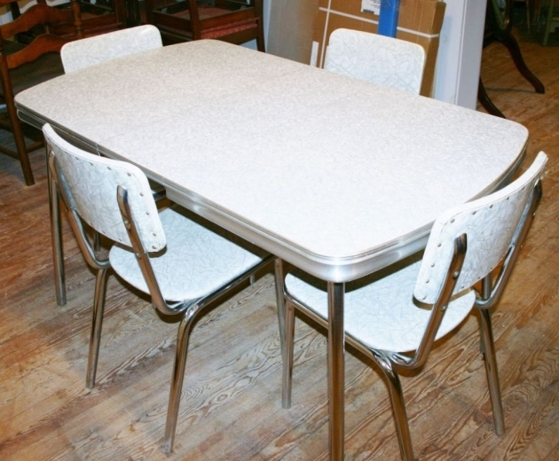 Contemporary 1950S Formica Kitchen Table And Chairs Pics