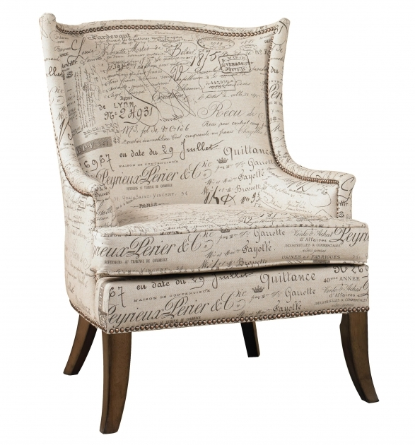Contemporary Accent Chair With Writing On It Pictures