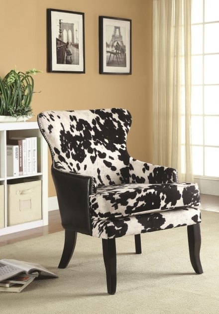 Contemporary Black And White Accent Chairs Photos