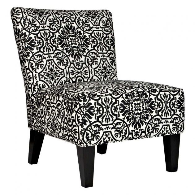Contemporary Damask Accent Chair Pics