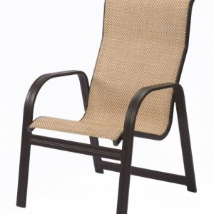High Back Sling Patio Chairs