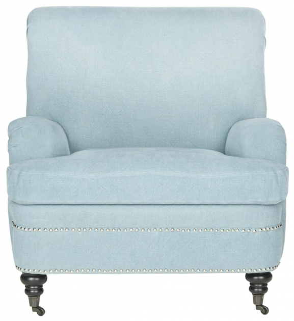Contemporary Light Blue Accent Chairs Pics