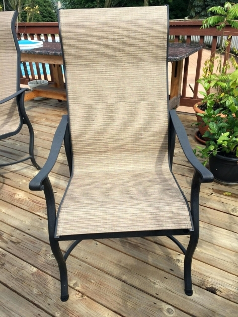 Contemporary Patio Chair Sling Replacement Ideas