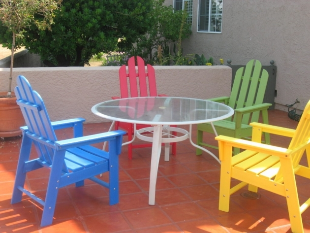 Elegant Colorful Patio Chairs Pic