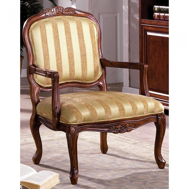 Elegant Victorian Accent Chair Picture