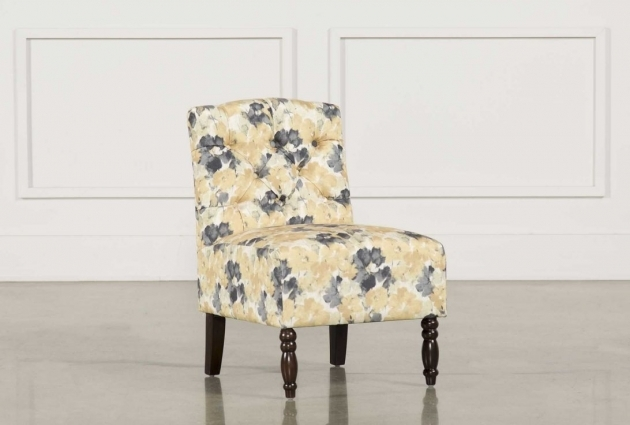 Elegant Yellow And Gray Accent Chair Photos