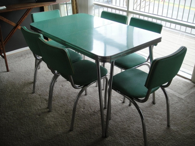 Fantastic 1950S Formica Kitchen Table And Chairs Pic