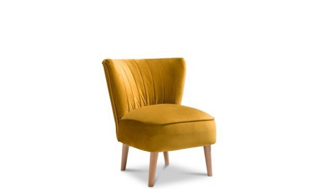 Fantastic Mustard Accent Chair Picture