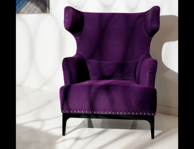 Fantastic Purple Accent Chairs Sale Photo