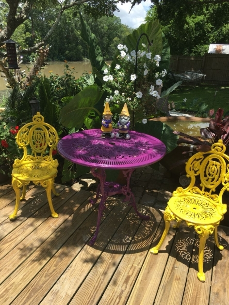 Fantastic Purple Patio Chairs Pic