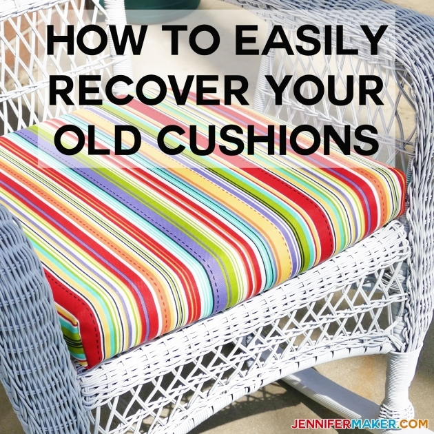 Fantastic Recovering Patio Chair Cushions Photos