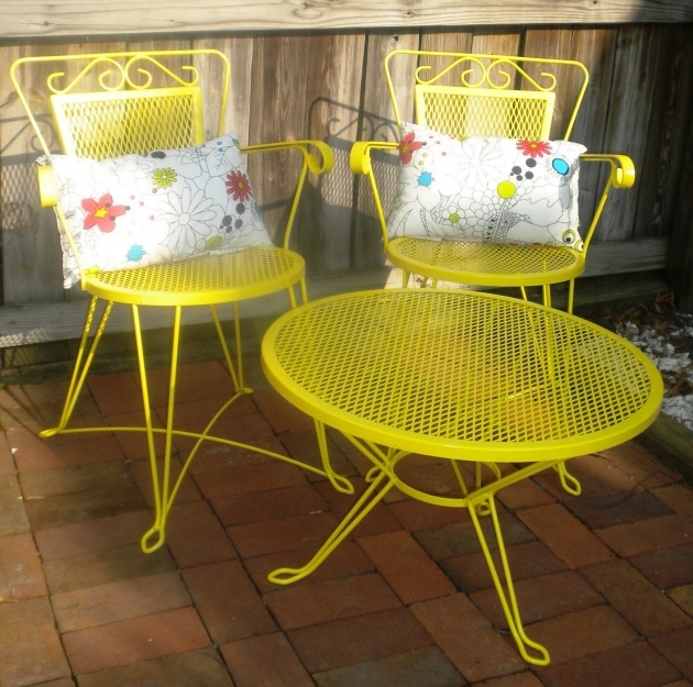 Fantastic Yellow Patio Chairs Ideas