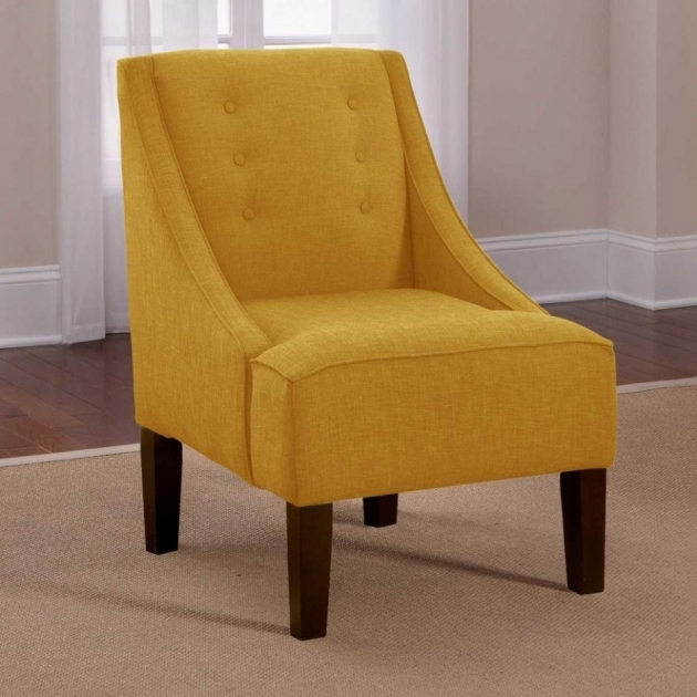 Fascinating Mustard Yellow Accent Chair Pictures