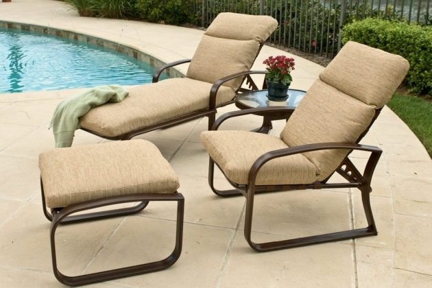 Fascinating Patio Chairs With Ottomans Pics