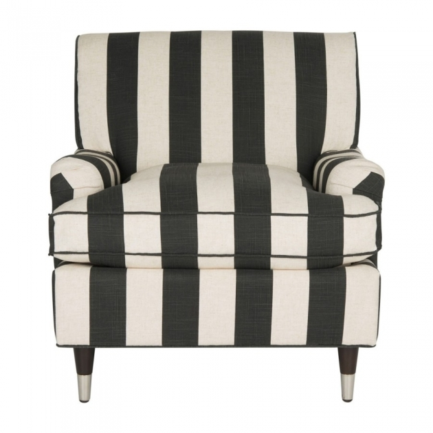 Fresh Black And White Accent Chairs Ideas