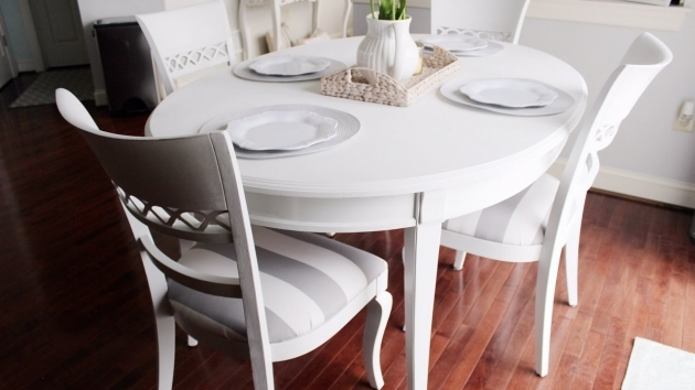 Fresh Chalk Paint Kitchen Table And Chairs Images