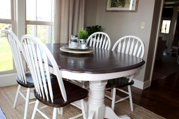 Fresh Chalk Paint Kitchen Table And Chairs Photos