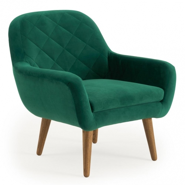 Fresh Emerald Green Accent Chair Picture