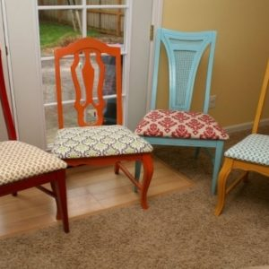 How To Reupholster Kitchen Chairs