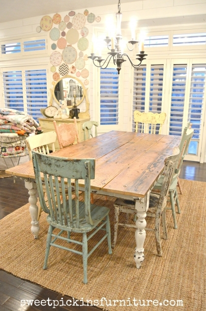 Fresh Rustic Kitchen Tables And Chairs Image