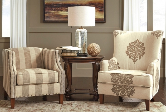 Fresh Striped Accent Chairs Ideas