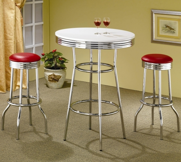 Glamorous 50's Kitchen Table And Chairs Image