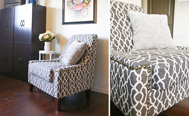 Glamorous Printed Accent Chairs Picture