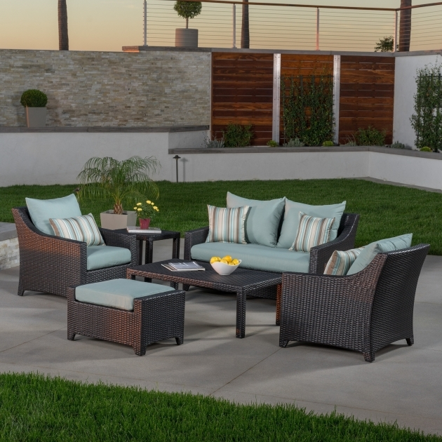 Good Patio Chairs With Ottomans Photos