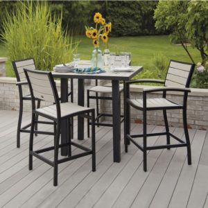 Patio Tall Table And Chairs