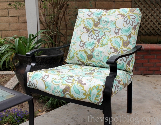 Good Recovering Patio Chair Cushions Picture