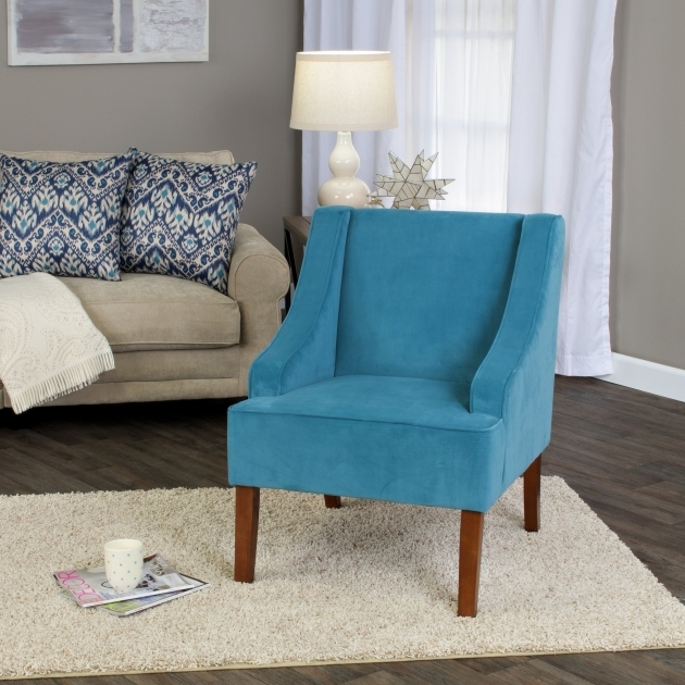 Gorgeous Accent Chairs Turquoise Photo