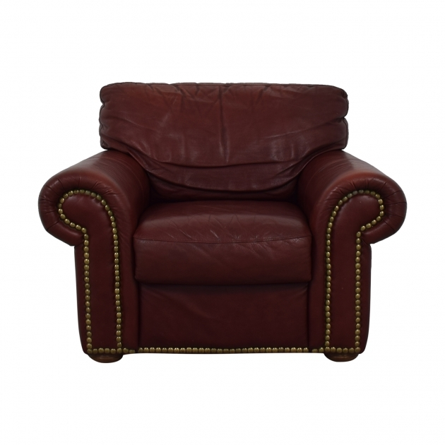 Great Burgundy Accent Chair Pics
