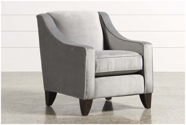 Great Grey Accent Chair With Arms Images