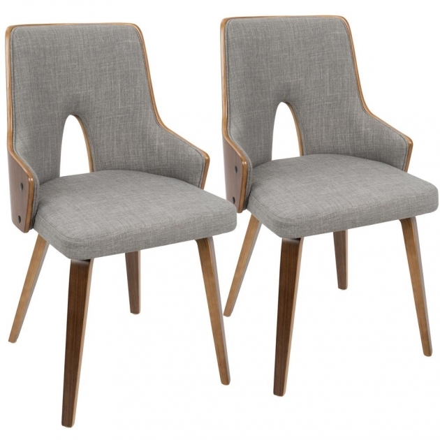 Great Light Grey Accent Chair Photo