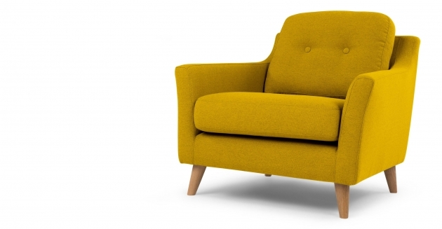 Great Mustard Yellow Accent Chair Picture