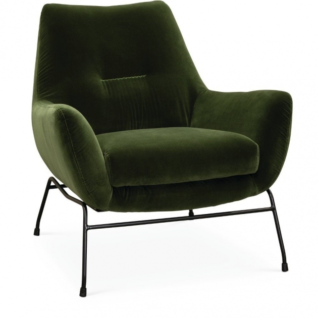 Great Olive Green Accent Chair Image
