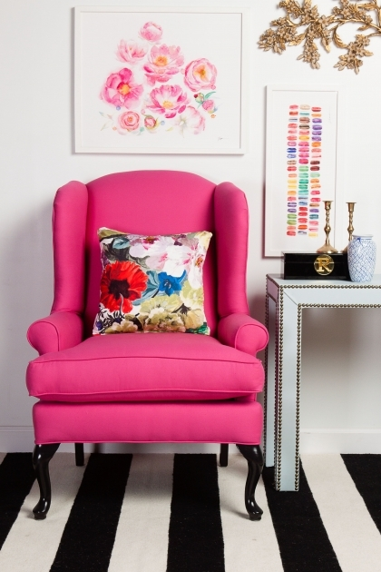Incredible Hot Pink Accent Chair Picture