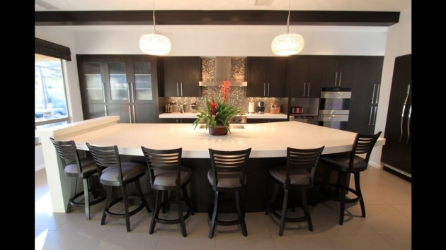 Incredible Kitchen Islands With Chairs Picture