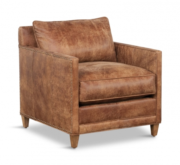 Incredible Leather Accent Chairs With Arms Images