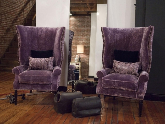 Incredible Purple Accent Chairs Living Room Pictures