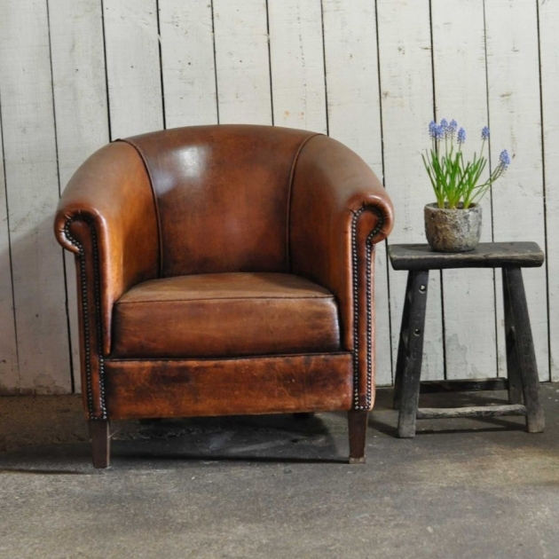 Incredible Small Leather Accent Chairs Pictures