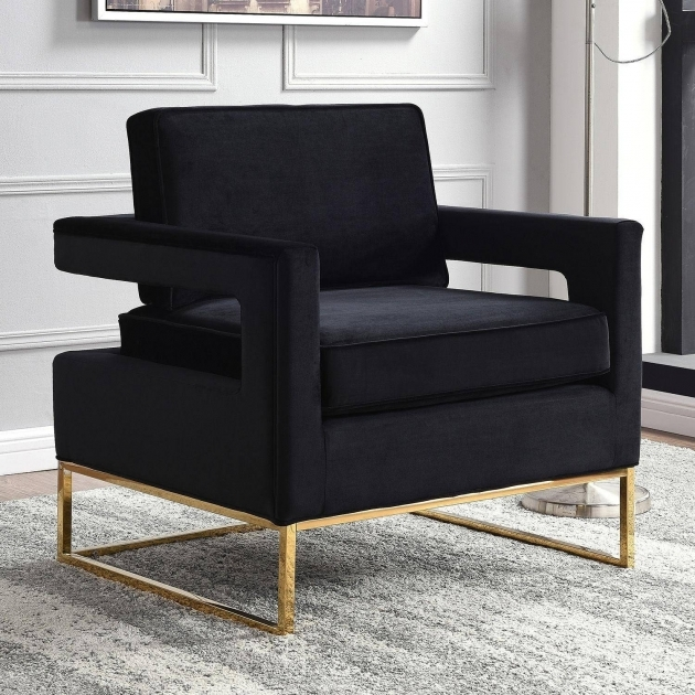 Inspiring Black And Gold Accent Chair Ideas