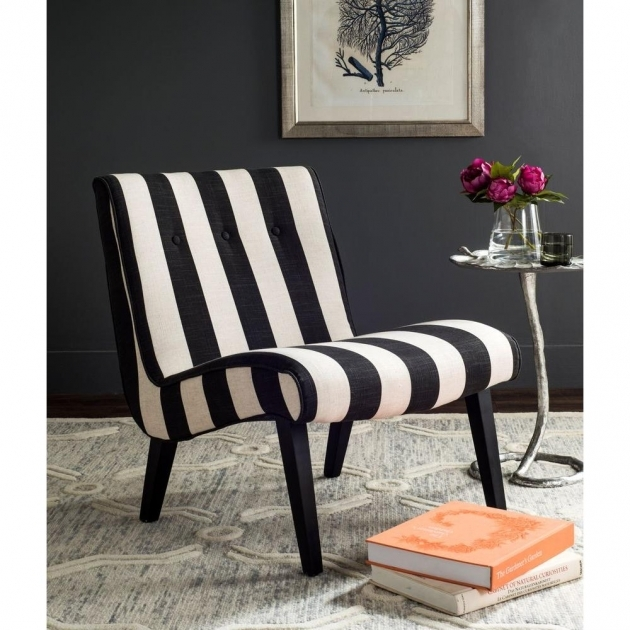 Inspiring Black And White Accent Chairs Photos