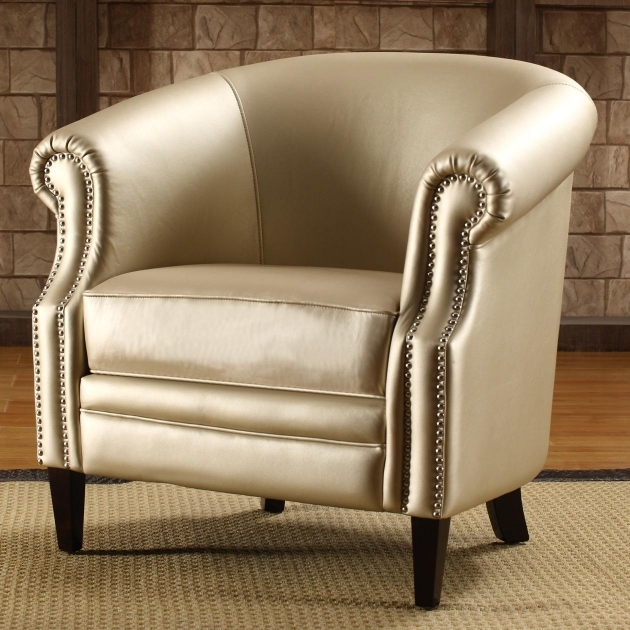 Inspiring Leather Accent Chairs With Arms Picture