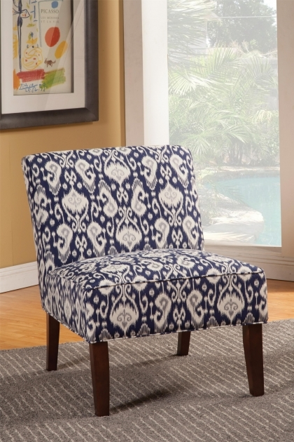 Inspiring Navy And White Accent Chair Pictures