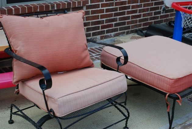 Inspiring Recovering Patio Chair Cushions Picture