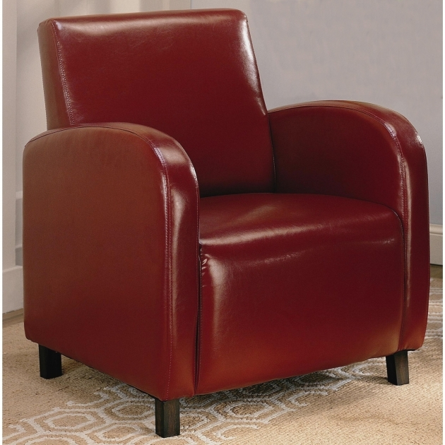 Interesting Red Accent Chair With Arms Photos