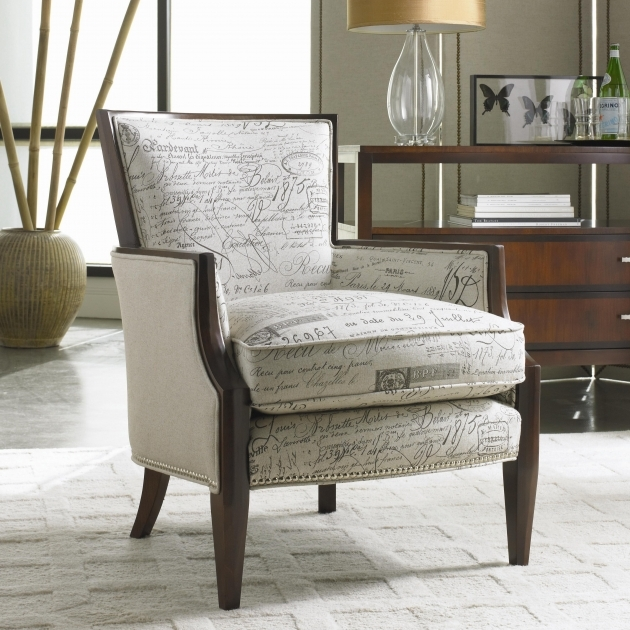 Interesting Upholstered Accent Chairs With Arms Pictures