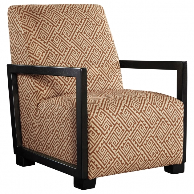 Luxurious Accent Chairs With Wood Arms Photo